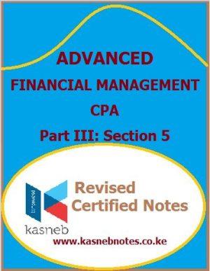 Kasneb Advanced Financial Management notes