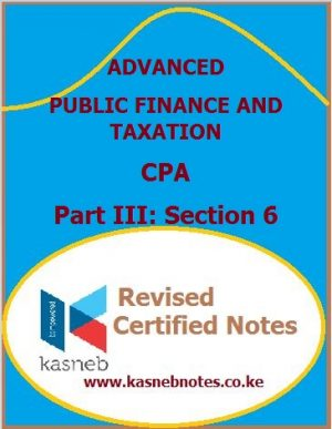 Advanced Public Finance and Taxation notes