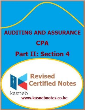 kasneb Auditing and Assurance notes