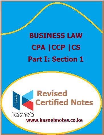 Kasneb Business law notes