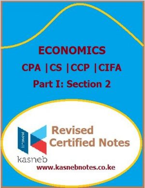 Kasneb Economics notes