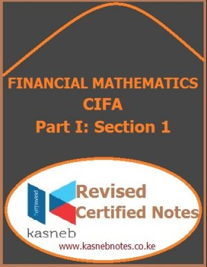 Kasneb Financial Mathematics notes