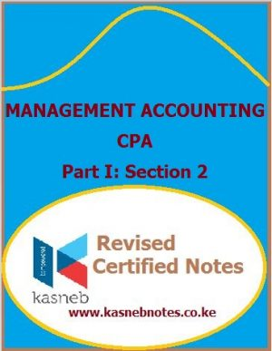 Kasneb Management Accounting notes