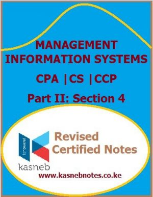 Kasneb Management Information Systems notes