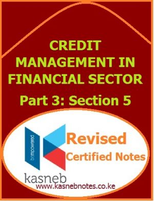 Credit Management In Financial Sector