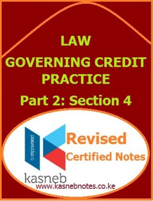 Law Governing Credit Practice