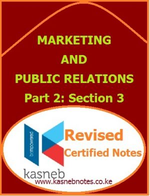 Marketing and Public Relation notes