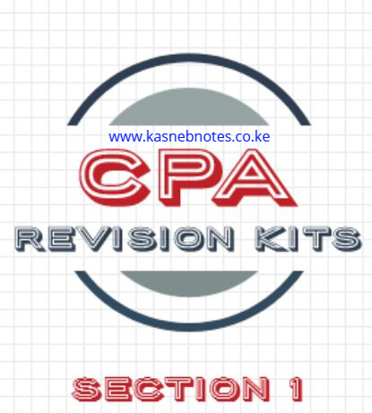 CPA Section 1 revision kits questions and answers