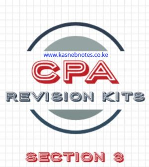 CPA Section 3 revision kits questions and answers
