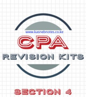 CPA Section 4 revision kits questions and answers