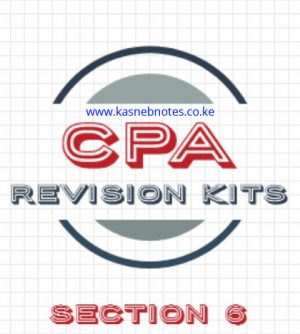 CPA Section 6 revision kits questions and answers