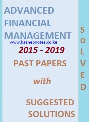 AFM PAST PAPERS WITH MARKING SCHEME -2015 - 2019