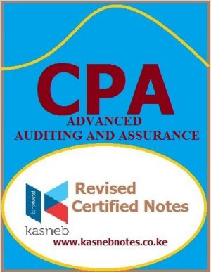 Advanced Auditing and Assurance Advanced level notes