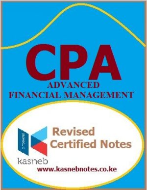 advanced financial management cpa advanced level